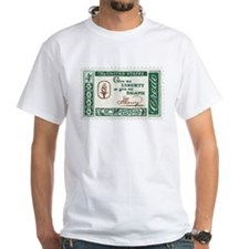 Give Me Liberty 4-cent Stamp White T-Shirt