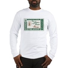 Give Me Liberty 4-cent Stamp Long Sleeve T-Shirt