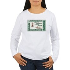Give Me Liberty 4-cent Stamp Women's Long Sleeve T