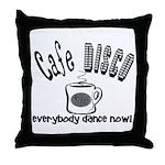 Cafe Disco Throw Pillow