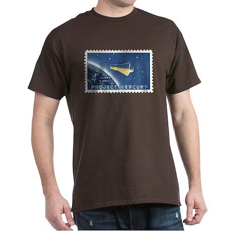 Project Mercury 4-cent Stamp Dark T-Shirt