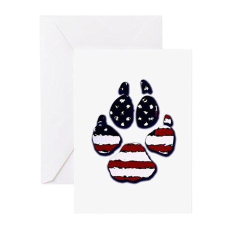 American Dog Greeting Cards (Pk of 10)