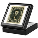 Abraham Lincoln 15-cent Stamp Keepsake Box