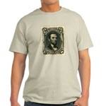 Abraham Lincoln 15-cent Stamp Light T-Shirt