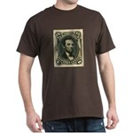 Abraham Lincoln 15-cent Stamp Dark T-Shirt