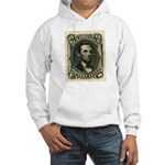 Abraham Lincoln 15-cent Stamp Hooded Sweatshirt
