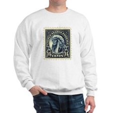 American Indian 14-cent Stamp Sweatshirt