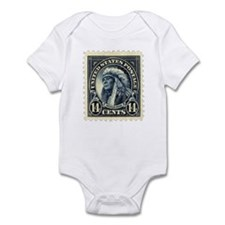 American Indian 14-cent Stamp Infant Bodysuit