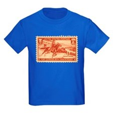Pony Express 3-cent Stamp T