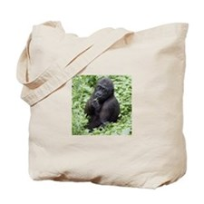 Relaxing Young Gorilla Tote Bag