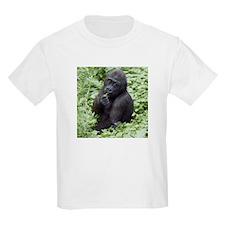 Relaxing Young Gorilla Kids Light T-Shirt