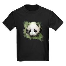 Baby Giant Panda Kids Dark T-Shirt