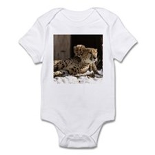 Mom and Baby Cheetah Infant Bodysuit