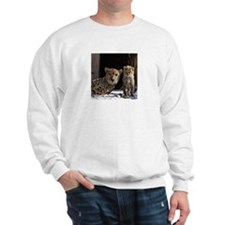 Mom and Baby Cheetah Sweatshirt