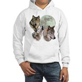 3 Wolf Moon Hoodie Sweatshirt