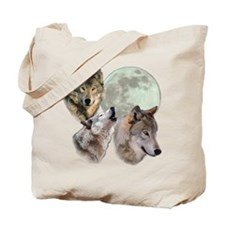 3 Wolf Moon Tote Bag