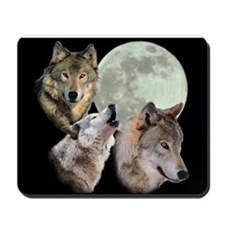 3 Wolf Moon Mousepad