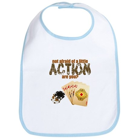 """Afraid of Action"" Bib"