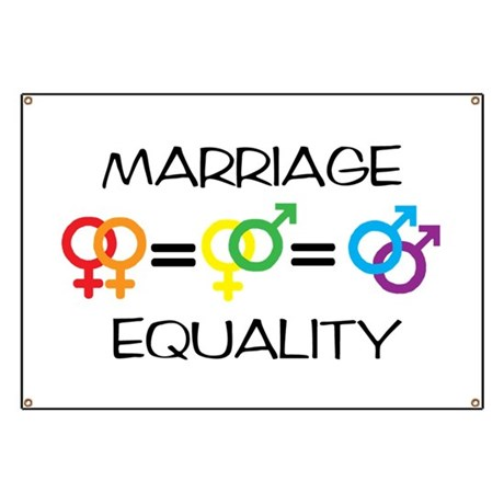 Marriage Equality Banner