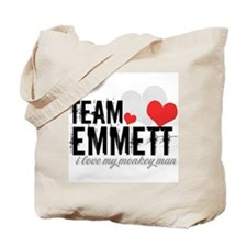 Team Emmett - i love my monke Tote Bag