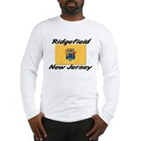 Ridgefield New Jersey Long Sleeve T-Shirt