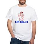 The Real Kim Shady White T-Shirt