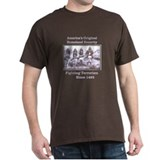 """America's Original Homeland..."" Black T-Shirt"