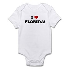 I Love FLORIDA! Infant Bodysuit