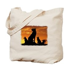 Cheetah Family Tote Bag