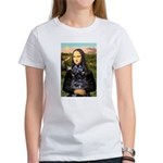 Mona Lisa's PWD (5) Women's T-Shirt