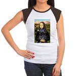 Mona Lisa's PWD (5) Women's Cap Sleeve T-Shirt