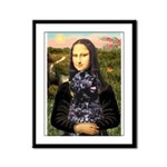 Mona Lisa's PWD (5) Framed Panel Print