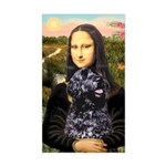 Mona Lisa's PWD (5) Sticker (Rectangle)