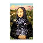 Mona Lisa's PWD (5) Mini Poster Print