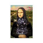 Mona Lisa's PWD (5) Rectangle Magnet