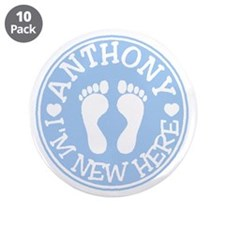 "ANTHONY 3.5"" Button (10 pack)"