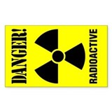 3x5 Radioactive Rectangle Decal