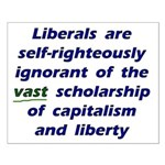 16x20 Liberal Ignorance Poster