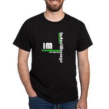Instant Message (IM) Black T-Shirt