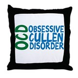 Obsessive Cullen Disorder Throw Pillow