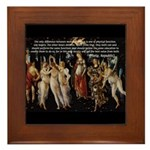 Sexual Philosophy Plato Framed Tile