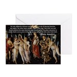 Sexual Philosophy Plato Greeting Cards (Package of