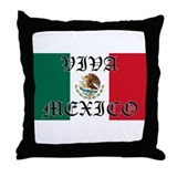 VIVA MEXICO SHIRT Throw Pillow