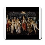 Sexual Philosophy Plato Mousepad