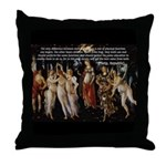 Sexual Philosophy Plato Throw Pillow