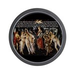 Sexual Philosophy Plato Wall Clock