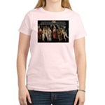 Sexual Philosophy Plato Women's Pink T-Shirt