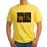 Sexual Philosophy Plato Yellow T-Shirt