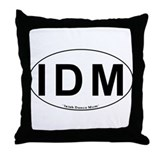 IDM Oval - Throw Pillow