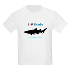 Kids 'I Love Sharks' T-Shirt